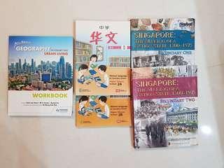 Sec 1/2 Textbooks