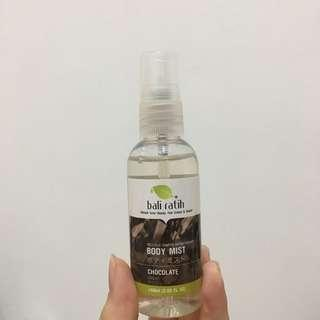bali ratih chocolate body mist