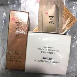 Sulwhasoo 雪花秀 精華素 粉底 sample
