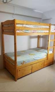 Double Decker bunk bed