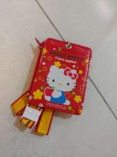 BN Hello Kitty Lanyard/ Card holder