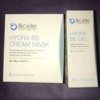 Bicelle Hydra B5 Cream Mask Gel 全效維他命補濕面膜 精華