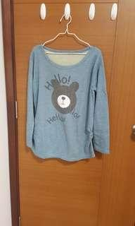 sweater/ long sleeve shirt