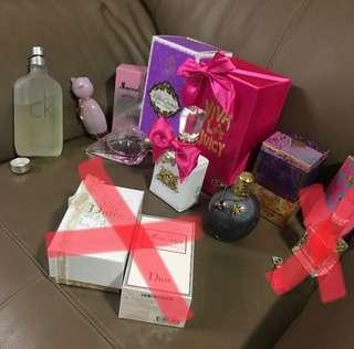 Perfume clearance (view individual listing)