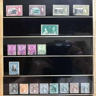 Old / Vintage Stamps for Sale - Book 1 Page 7 - Trinidad & Tobago , Malaya ,
