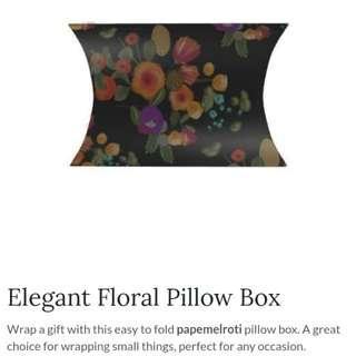 Papemelroti Pillow boxes