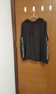 perfectly imperfect hnm oversized hoodie