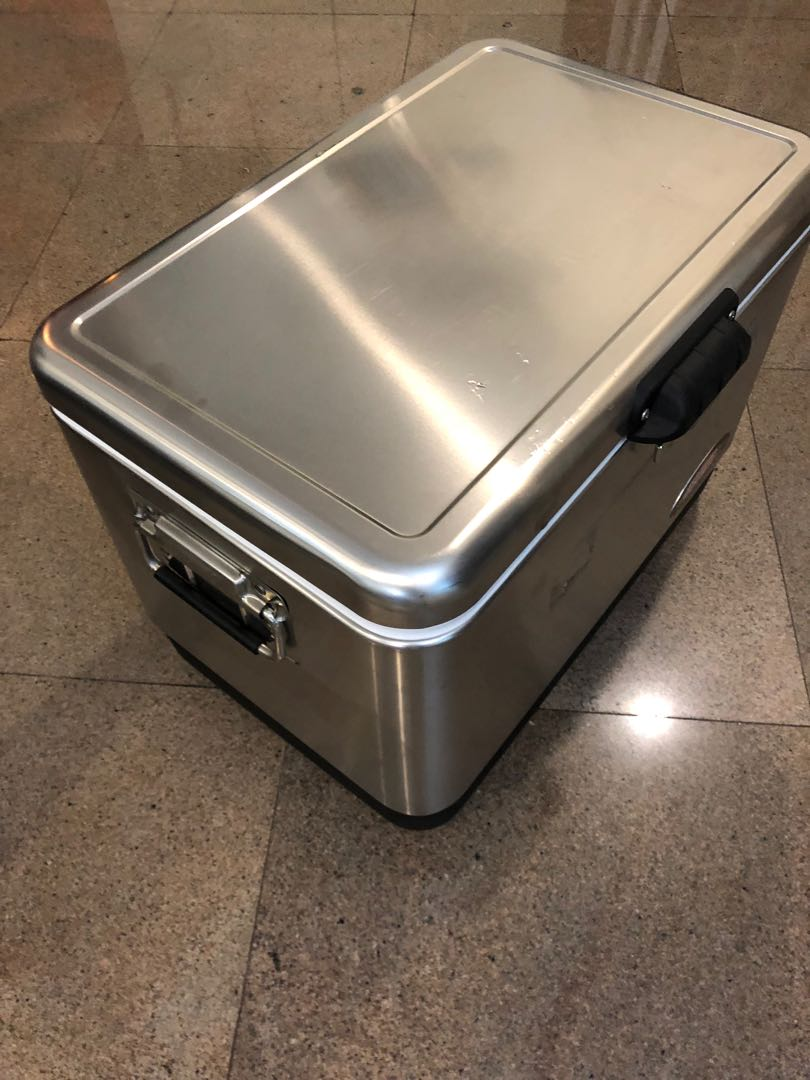 54 QUART COLEMAN® STAINLESS STEEL COOLER, Everything Else on