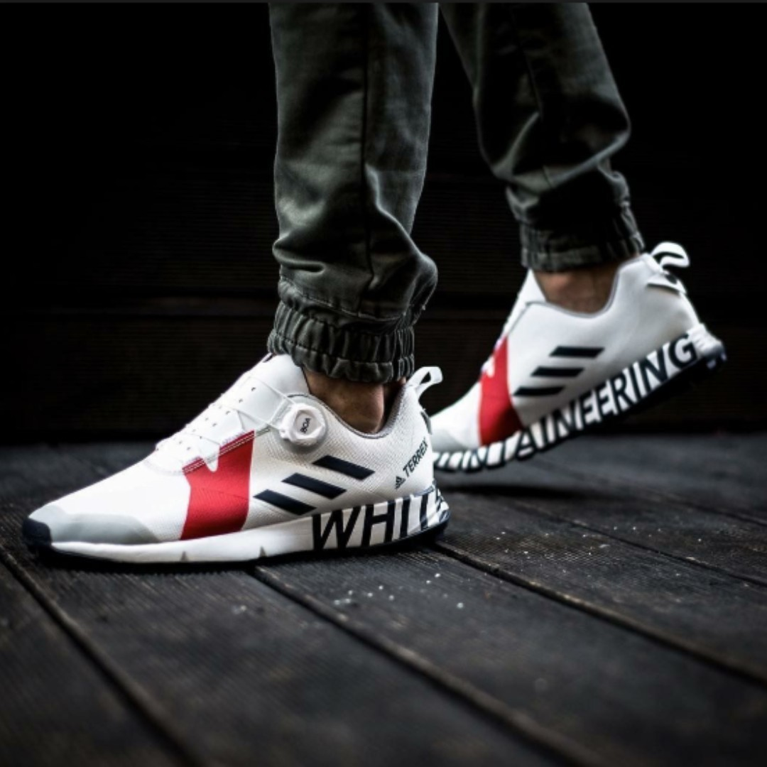 e90cbeeebd2a ADIDAS BY WHITE MOUNTAINEERING - Terrex Two Boa lace-up sneakers ...