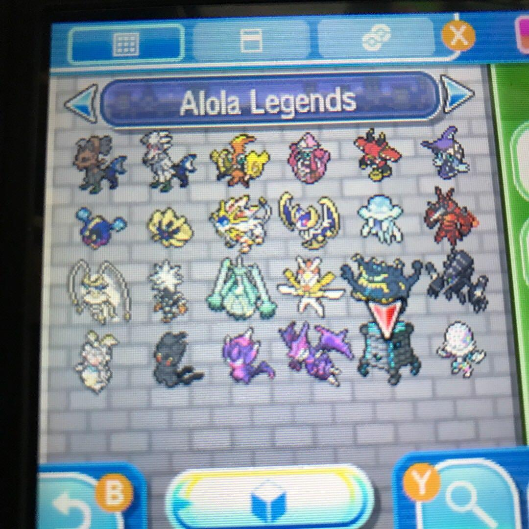 All Alola Legendary Pokemon (6IV, Shiny, Battle Ready