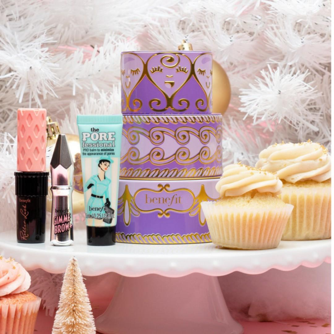 Benefit Benefit Confection Cuties Holiday 2018 Tiered Set BRAND NEW & AUTHENTIC [PRICE IS FIRM, NO SWAPS]