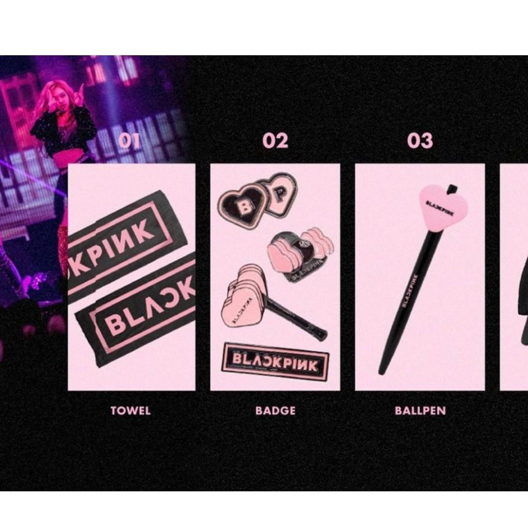 BLACKPINK In Your Area Official Goods, Entertainment, K-Wave