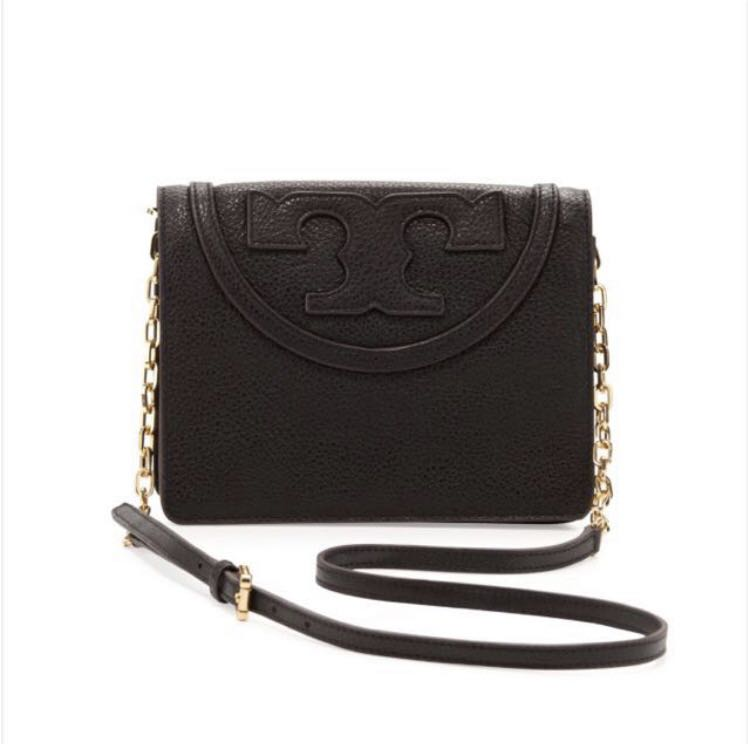 501299254e8e BN Tory Burch All T Pebbled Crossbody Bag