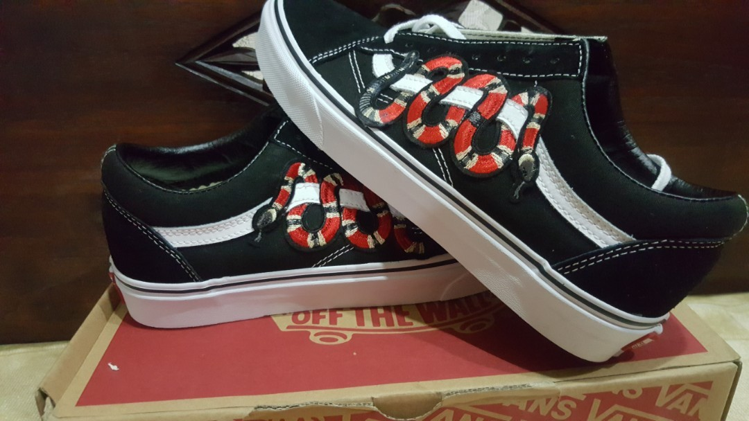 7a52e2d14 Bnib Vans gucci snake, Men's Fashion, Footwear, Sneakers on Carousell