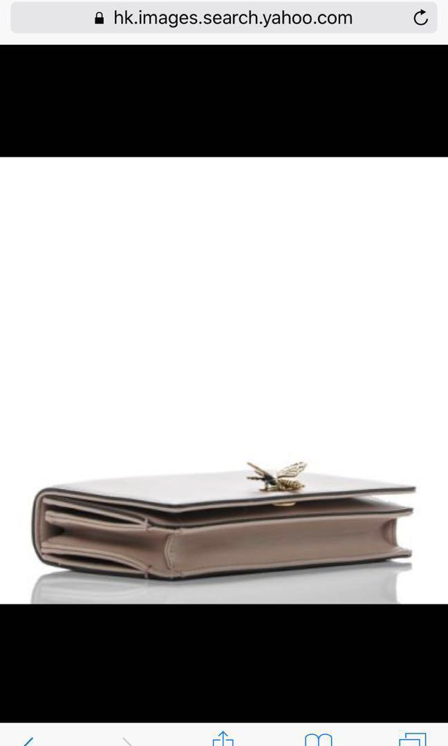Dior bag bee clutch wallet pouch small leather handbag