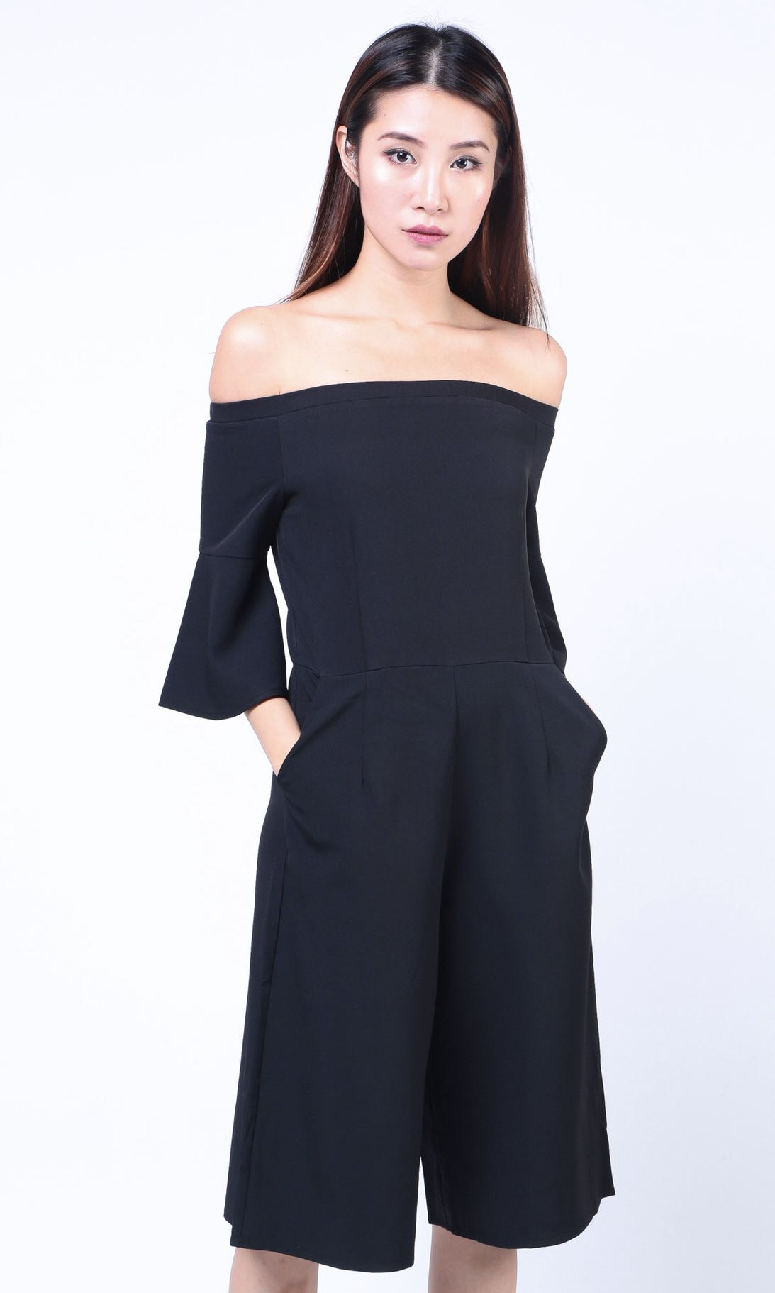 12d278f2d09 Dressabelle Off Shoulder Jumpsuit