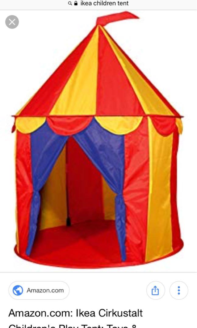 premium selection 6a4d4 00117 Free IKEA Children's Play Tent, Babies & Kids, Toys ...