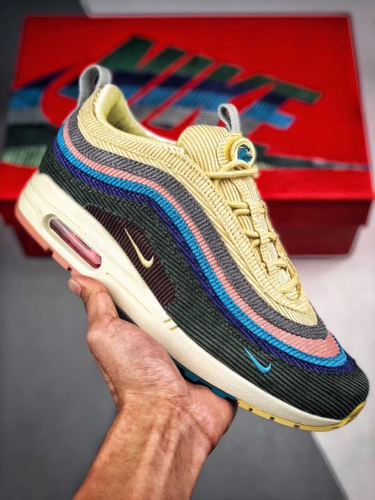5c1eadbaea19a Full size ) Nike Air Max 1/97 SW Sean Wotherspoon Limited Couple ...