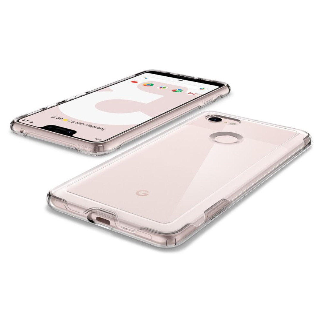 huge discount 8d220 88bf7 Spigen Google Pixel 3 XL Case Slim Armor Crystal