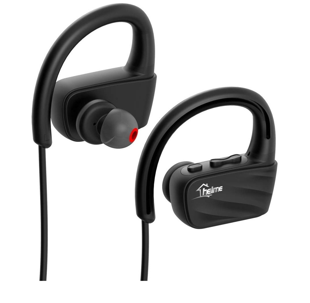 Helme Bluetooth Headphones Wireless For Running With Mic Iphone