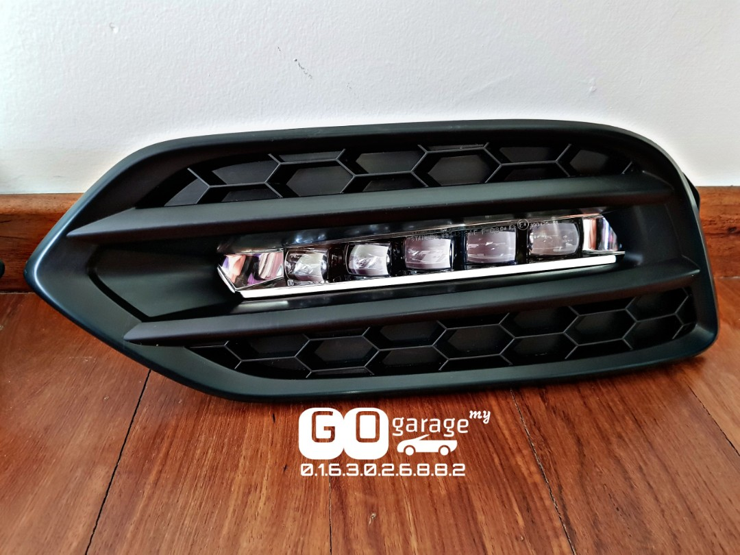 Facelift Honda Vezel Hrv Rs Led Foglights Car Accessories
