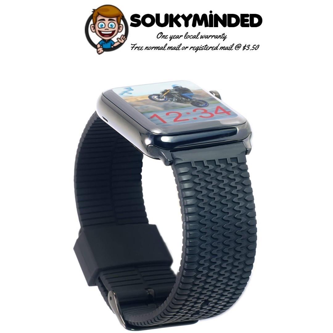 9f3d2adb726 IN-STOCK  Carterjett Compatible Apple Watch Band 42mm 44mm Black ...