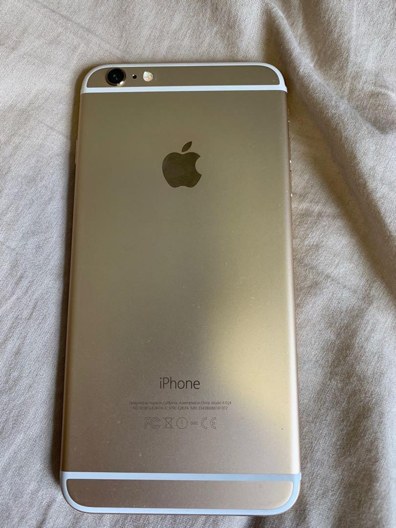 iPhone 6plus 64GB 玫瑰金色