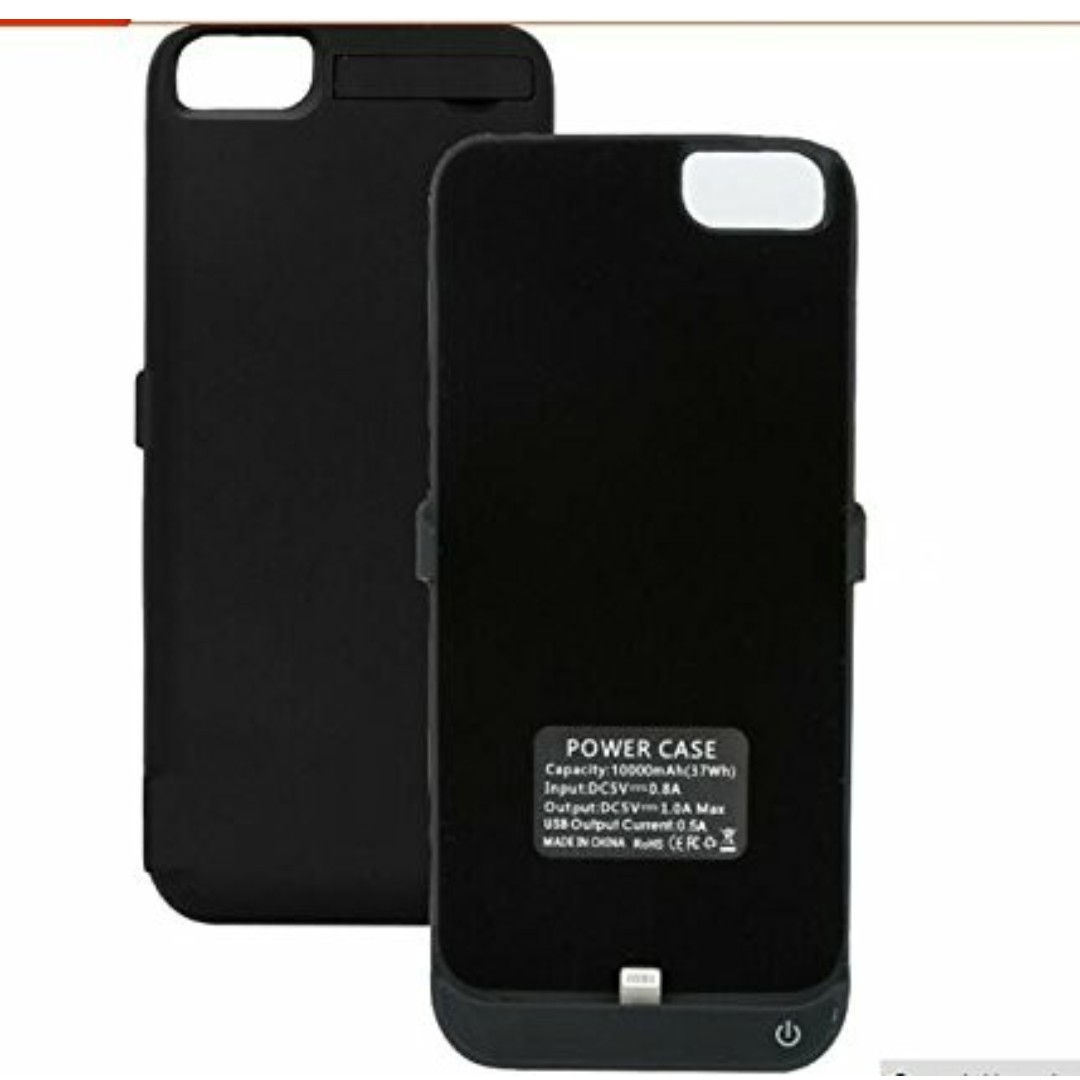 on sale 98931 8060f iPhone 7 / 6 Plus / 6s Battery Case, 10000mAh External Protective iPhone 7  / 6 Plus / 6s Charger Case / Charging Case Extended Backup Battery Pack ...