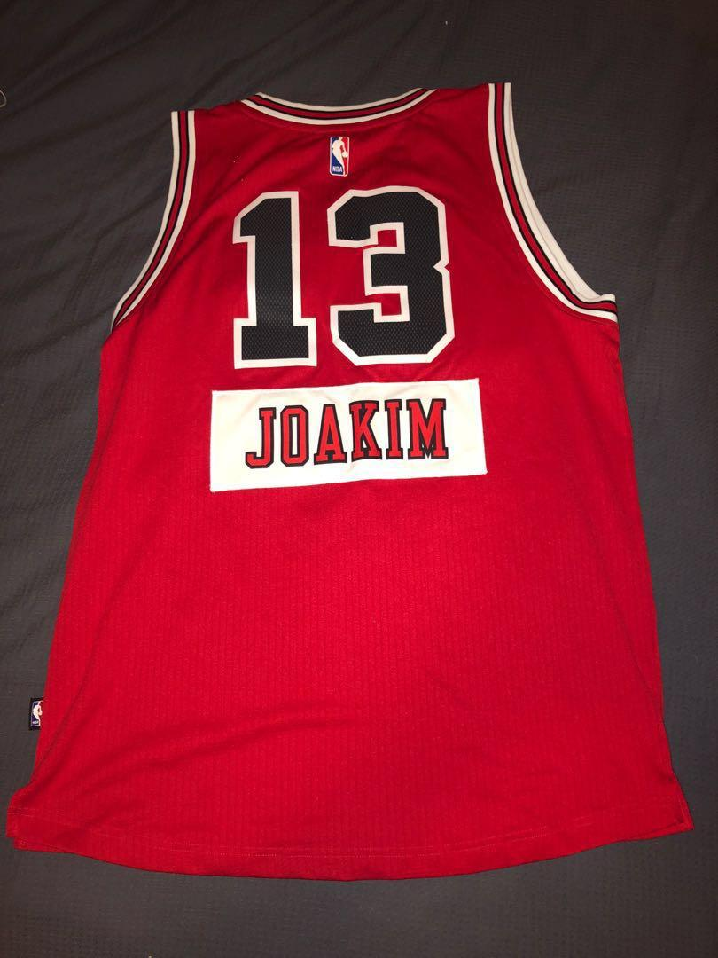 Joakim Noah Chicago Bulls Christmas Edition Jersey 2014