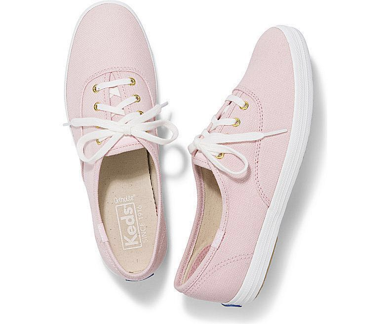 b0272fd117466 Keds WF57966 A8 CHAMPION CHALKY CANVAS ROSE PINK
