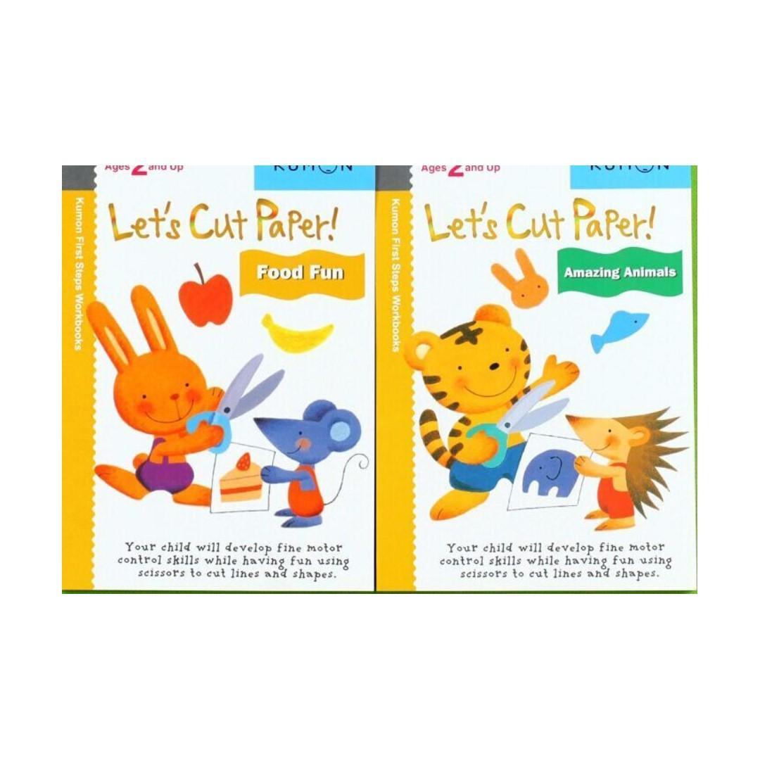 Kumon 12 set activity books brand new