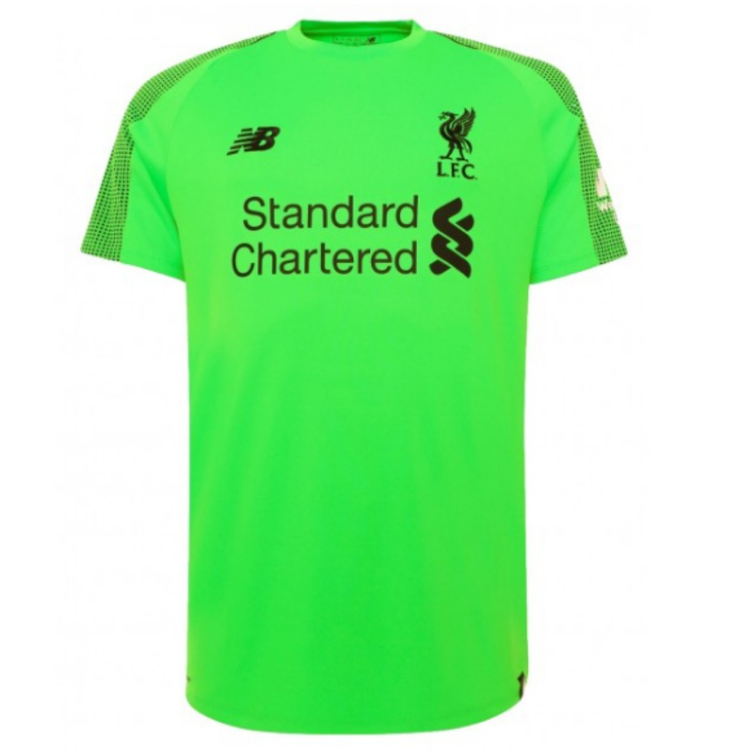 online store 25150 f5615 LIVERPOOL 2018/19 AWAY GOALKEEPER SHIRT - SHORT SLEEVE