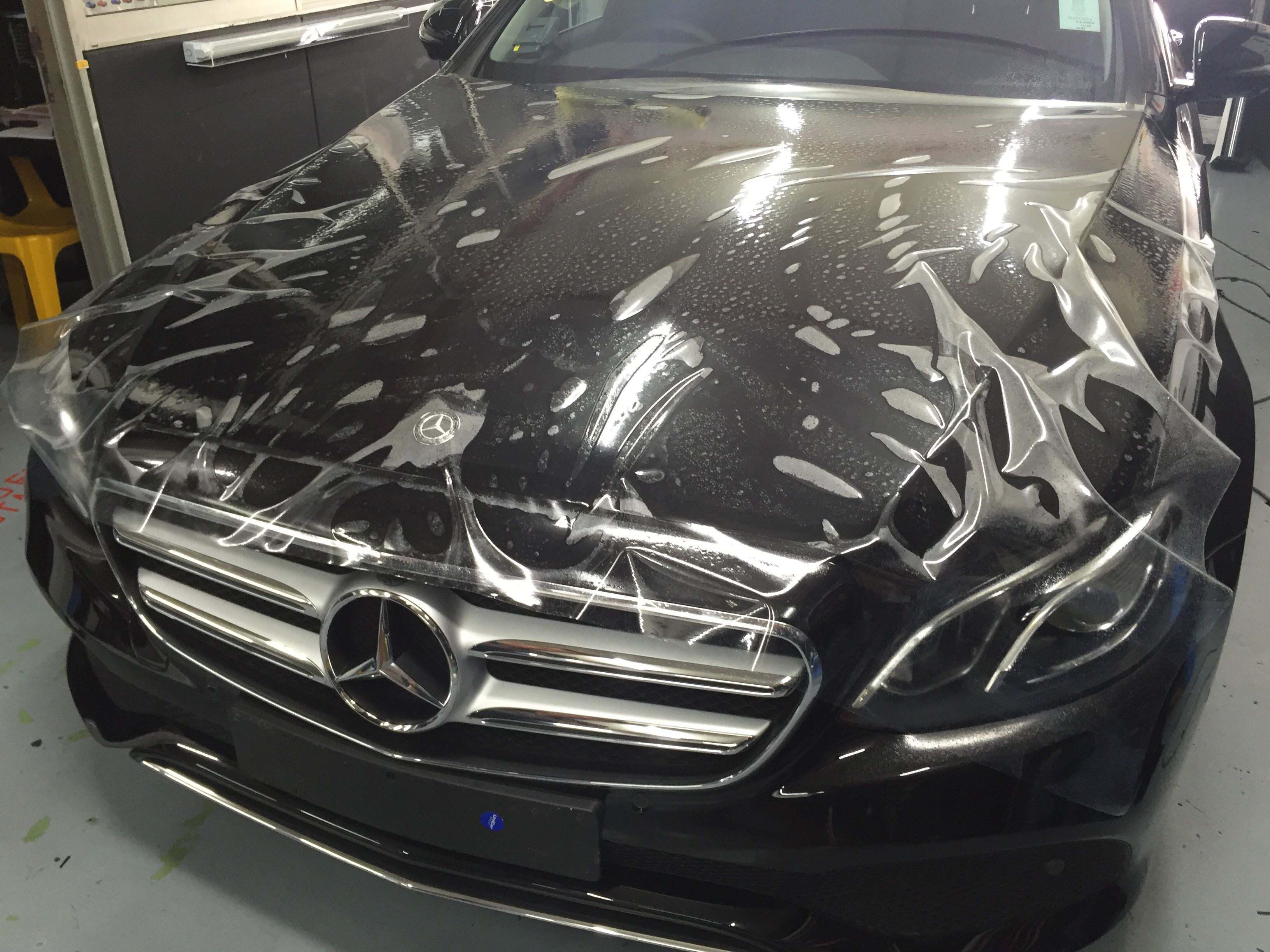 Mercedes Bonnet Paint Protection Film