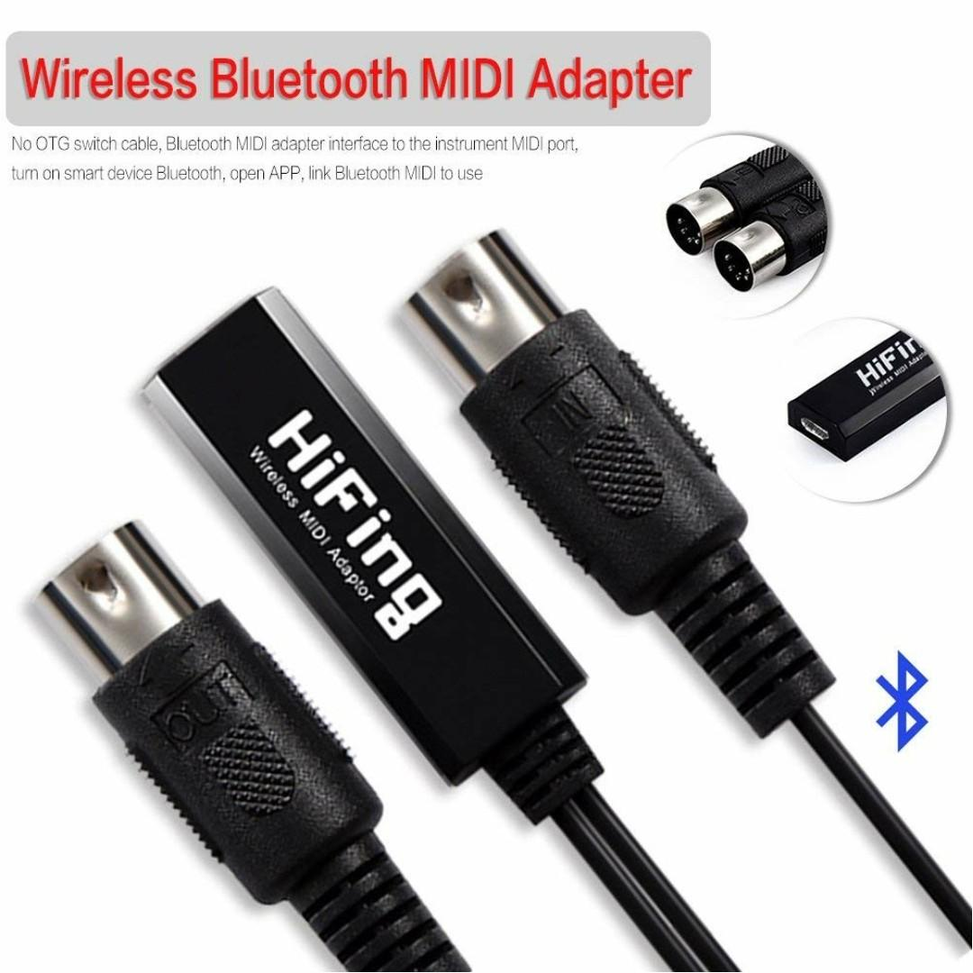 MIDI Cable USB in-out MIDI Converter/Adaptor Cable, Wireless