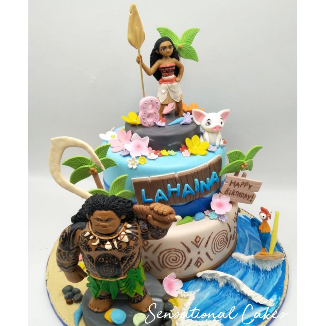 Remarkable Hawaii Character Ocean Tribal 3D Customized Theme Girl Birthday Funny Birthday Cards Online Overcheapnameinfo