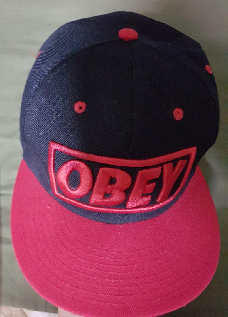 59535add4d8 OBEY Cap