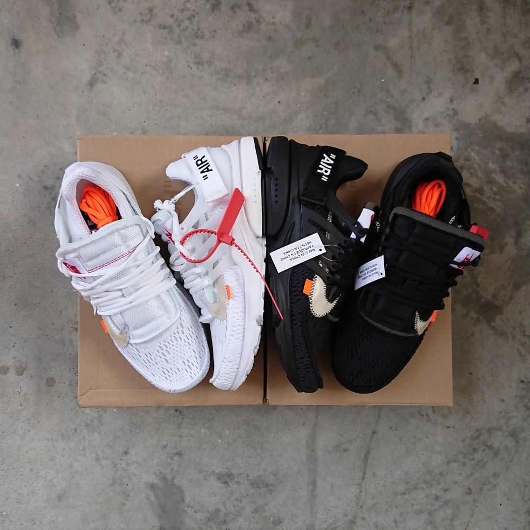 Off White x Nike Air Presto \