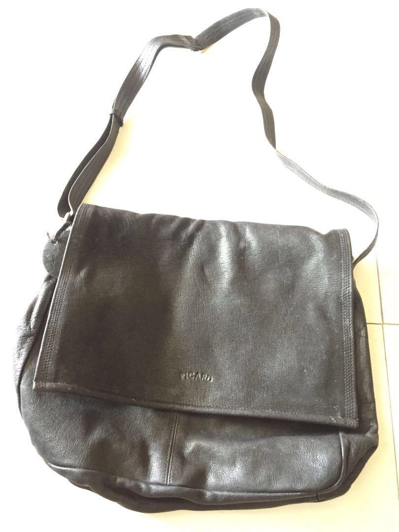 817bf915cbc Picard sling bag (black), Women's Fashion, Bags & Wallets, Sling ...