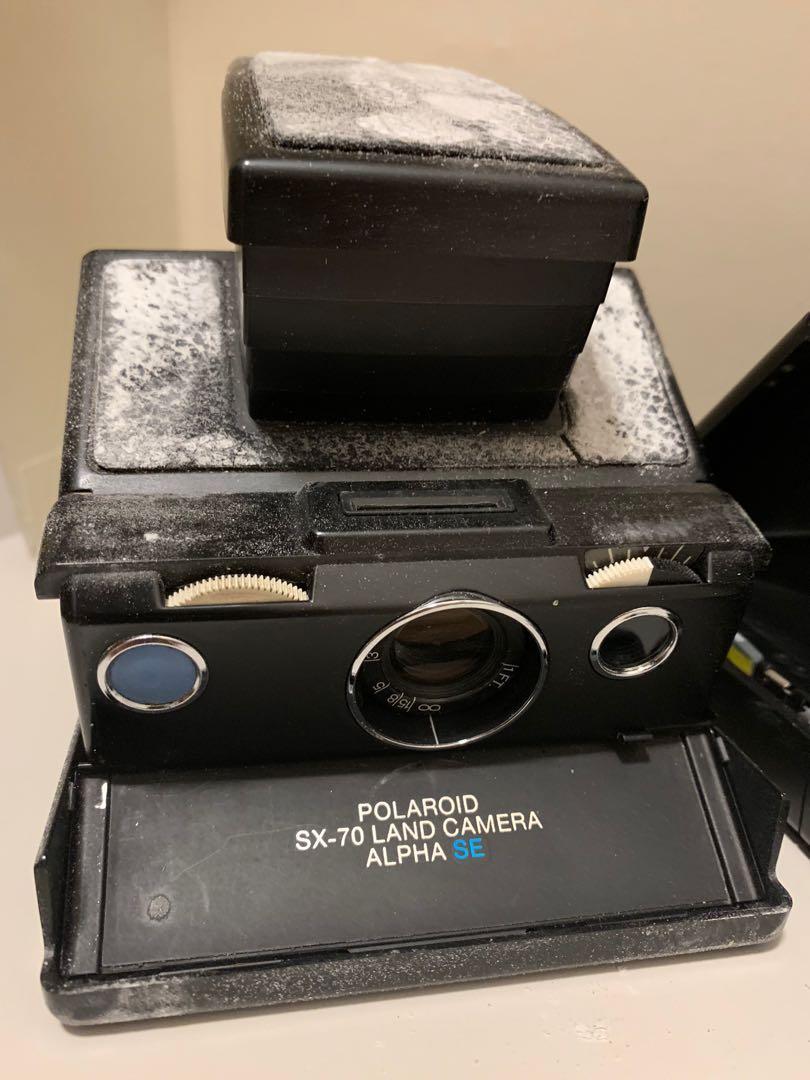 Polaroid SX-70 四部 time zero SE model II