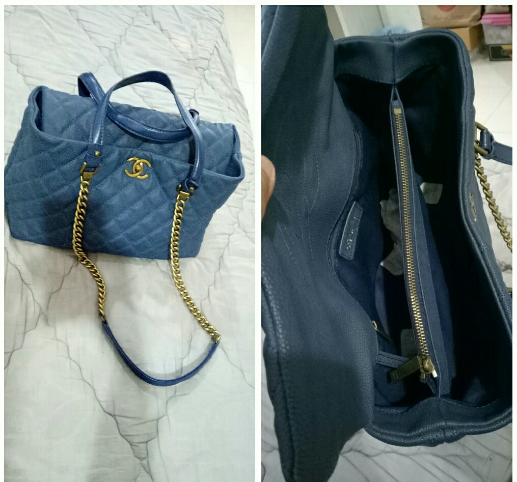 e110748d9ea318 Preloved chanel bag mirror quality, Luxury, Bags & Wallets on Carousell