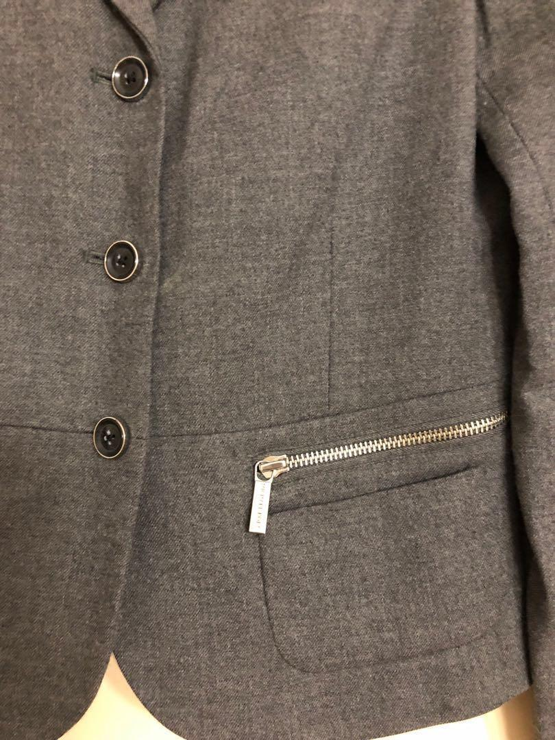✨Reduced✨Authentic Michael Kors blazer charcoal grey