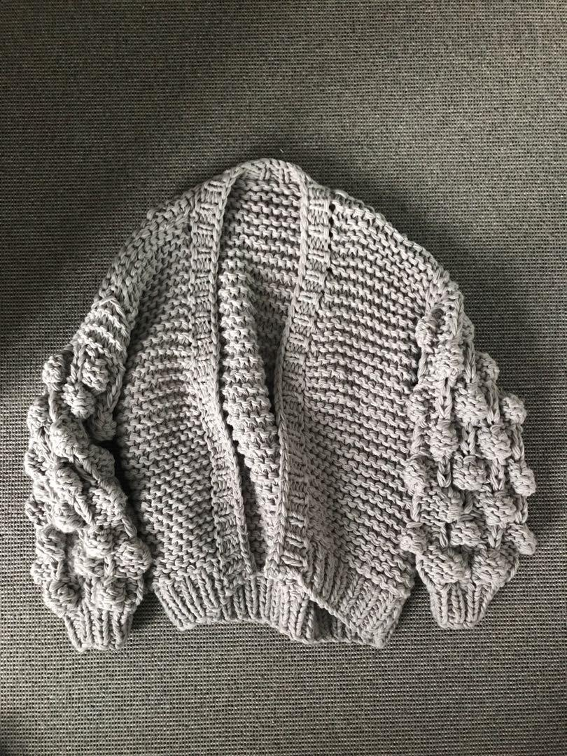 RUNWAY SCOUT GREY CHUNKY KNIT