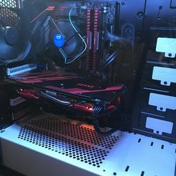 High spec gaming pc RX 580 4GB with ryzen 5 1600 computer