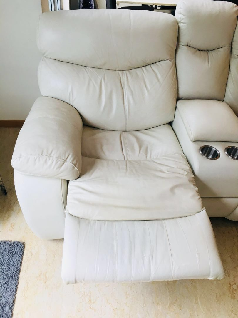 Cool Sale Only Today 100 Leather Sofa With Recliner Feature Interior Design Ideas Inamawefileorg