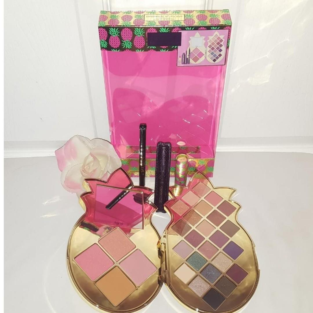 Tarte Pineapple Of My Eye Collector's Makeup Eyeshadow Palette Holiday Gift Set BRAND NEW & AUTHENTIC [PRICE IS FIRM, NO SWAPS] FREE SHIPPING AUSTRALIA WIDE