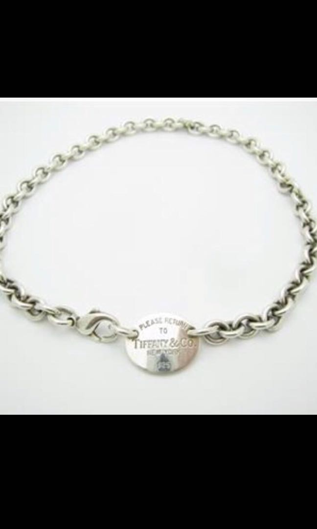 cb324b530 Tiffany & Co. Chain, Women's Fashion, Jewellery, Bracelets on Carousell