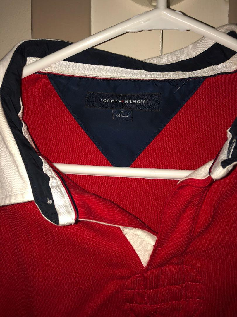 Tommy Hilfiger Long Sleeve Shirt Rugby