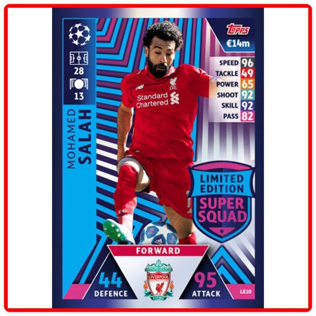 Fußball Topps Match Attax Champions League 2018/2019 Limited Edition LE10 Salah LE 10