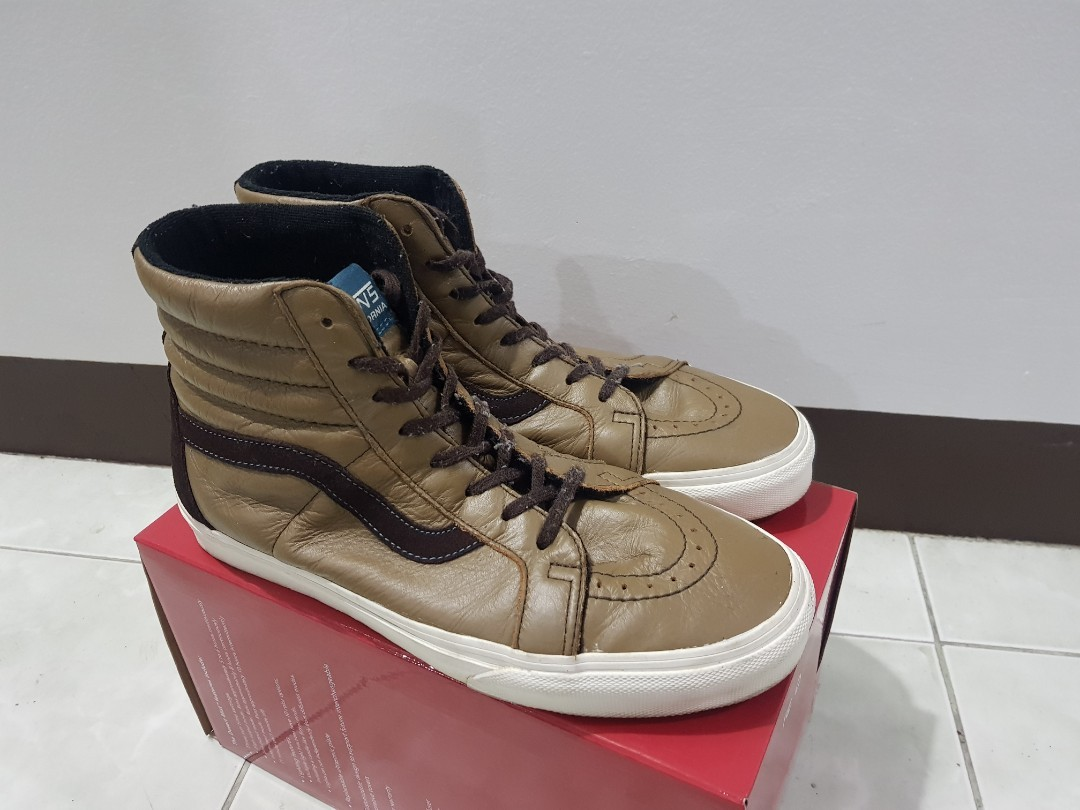 9b80291ec3 Vans California Fall Sk8-Hi Reissue CA Leather Pack