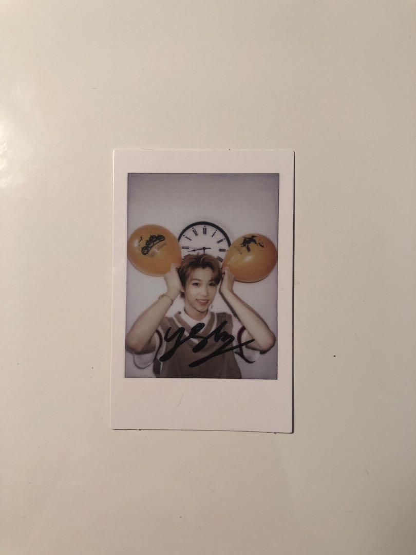 WTT Stray Kids Unveil 3 Polaroid - Felix